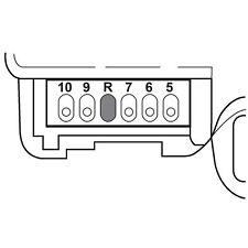 HVAC Heater Blend Door Actuator Lower SANTECH STE MT18517