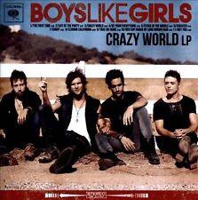 Crazy World LP * by Boys Like Girls (CD, Dec-2012, Columbia (USA))