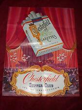 CHESTERFIELD SUPPER CLUB  NBC Radio Advertisement COMO, STAFFORD, BLOCK, SHAFFER