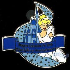 Disney Pin Wdw Happiest Celebration (Energizer Promo Gwp) Cinderella & Castle!