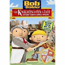 Bob the Builder - The Knights of Fix-A-Lot (DVD, 2003)