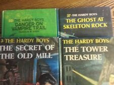 Lot of 4 Hardy Boys books in good condition multipic endpapers