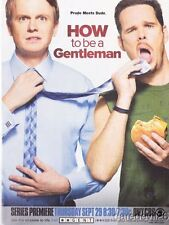 """2011 """"How To Be A Gentleman"""" KEVIN DILLON DAVID HORNSBY magazine print ad"""