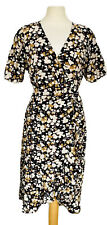 Somerset por Alice Temperley Floral Vestido Envolvente Tamaño