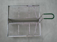 "sediment tray, ~15""x~13.5"" with well, all stainless, 5004377"