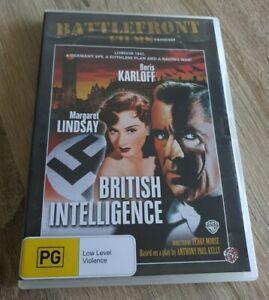 BRITISH INTELLIGENCE DVD - WAR MOVIE - DVD