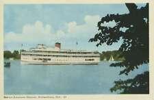 Bob-Lo Excursion Steamer Amherstburg Ontario ON Steamship Unused Postcard E12