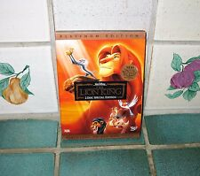 THE LION KING DVD (PLATINUM EDITION 2 DISC SPECIAL EDITION)