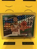 2019-20 Panini Mosaic Give and Go Ben Simmons Mosaic Green #2