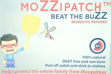 moZZipatch 6 Mosquito & Insect Repellent DEET Free NonToxic Kids Adults Patches