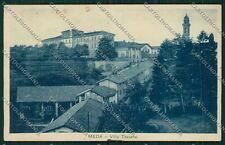 Milano Meda PIEGHINE ABRASA cartolina QQ8121