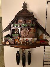 New ListingA. Schneider very Large 8 day Blacksmith musical cuckoo clock