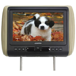 "Audiovox AVXMTGHR9HD Single 9"" Headrest W/DVD/HDMI Input & 3 Color Skins"
