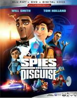SPIES IN DISGUISE NEW BLU-RAY/DVD