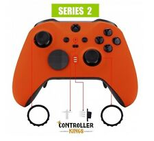 Xbox One Elite Series 2 Controller Orange Soft Touch Shell