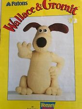 Alan Dart Wallace & Gromit Toy Knitting Pattern