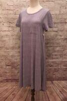 NEW Lularoe CARLY Dress  Lavender Purple Heathered Solid - Size Small