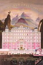 Grand Budapest Original Movie Poster Double Sided 27x40