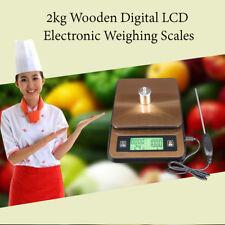 2kg LCD Digital Escala De Cocina Moderna De Pesaje Alimentos Cocina Hogar Chef Hornear