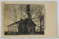 Elliottsburg Pa Lutheran Church Early Pennsylvania udb Postcard N6