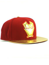 New Era Iron Man 59fifty Custom Fitted Hat Size 7 1/2 Gold Exclusive Marvel NWT