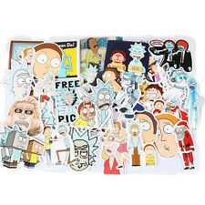 35-Pcs Rick and Morty Sticker Bomb Decal Graffiti Car Skateboard Laptop Luggage