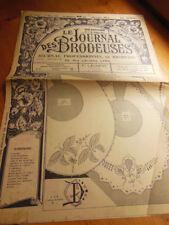 Le Journal des Brodeuses 1950 n°660 coin pochette motif robe enfant ecusson