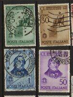 ITALY 1942 Rossini Used  Sc.423-426 (Sa.466/469)
