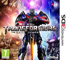 Transformers The Dark Spark Nintendo 3DS IT IMPORT ACTIVISION BLIZZARD
