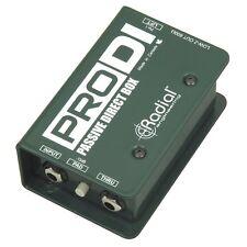 Radial Engineering ProDI Single Channel Compact Passive Stage Studio Direct Box