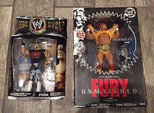 HULK HOGAN - UNMATCHED FURY + CLASSIC SUPERSTARS: wearing WWE WWF NWO belt JAKKS