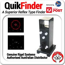 Genuine QuikFinder Compact Reflex Sight / Red Dot Finder - Telrad Alternative