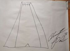 CHRISTOPHER PAOLINI~ LARGE STUNNING SIGNED ORIGINAL DRAWING 'A, AUTHOR OF ERAGON