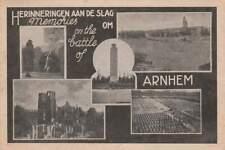 Ansichtkaart Nederland : Arnhem - Slag om Arnhem (boxa0261)