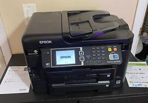 Epson Workforce WF-3640 Printer Wireless Color Sublimation Inkjet Printer