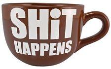 S@$* Happens Giant 22 Ounce Coffee Mug …311046 9910
