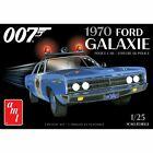 AMT1172M 1/25 1970 Ford Galaxie Police Car James Bond AMT
