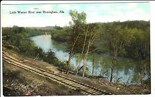 Early 1900's The Little Warrior River near Birmingham, AL Alabama PC
