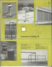 1969 Lawrence Metal Products Catalog #70, Theater, Grocery,Retail Store Products