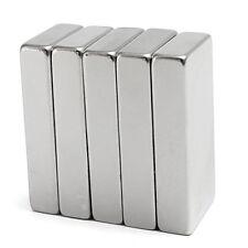 1X Super Strong Block Cuboid Magnet 50x25x10mm Rare Earth Neodymium N52