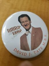 "LILLIPUT Lane David J. Tate M.B.E. Collectors pin 3"""