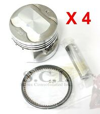 HONDA CB750 CB750K CB750K CB750F CB750SC .25 OVER PISTON KIT 1979 - 1982 x 4