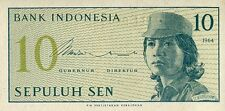 Indonesia 1964, 10 Sen (UNC)