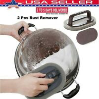 2Pcs Magic Eraser Cleaning Scrub Sponge for Removing Rust Stain Kitchen Tool USA