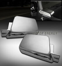 06-10 HUMMER H3 SIDE AIR INTAKE VENT COVER CHROME TRIM BEZEL LEFT+RIGHT 2PCS SET