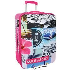 Trolley Bagaglio a Mano Medio da Viaggio Maui & Sons Sidney 2 ruote Rosa 66 cm