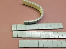 STEEL ADHESIVE STICK ON WHEEL WEIGHTS 1/4 oz. 4 strips, 48 pieces total