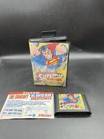 Superman (1992) (Sega Genesis, 1992) Tested Working In Hang Tab Box NO MANUAL