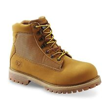 "Phat Farm Men's Classic Jackal 6"" Wheat Ankle Lace Up Boots Size 11 Brand New"
