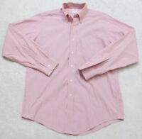 15 35 Brooks Brothers Blue Solid Dress Shirt Button Front Cotton Pocket Medium